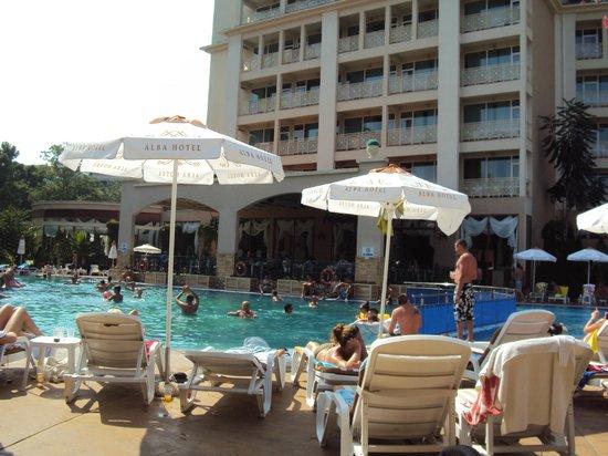 Alba Hotel: The main pool