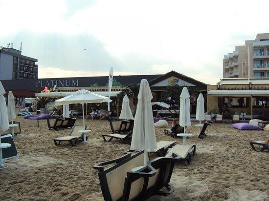 Alba Hotel: Bikini Beach