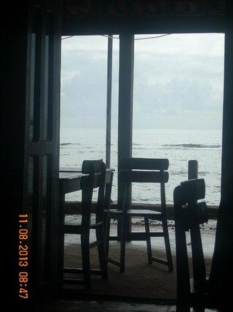 Pousada Aradhia: Vista tomando café da manhã