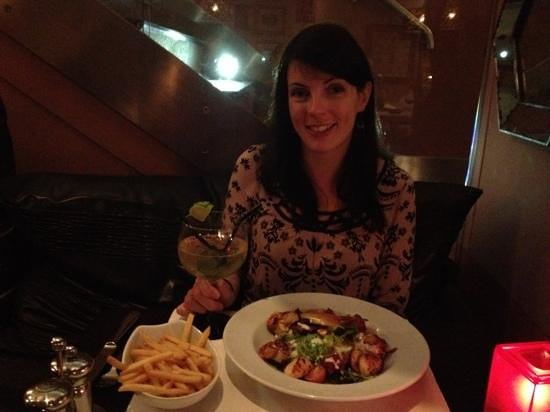 Mora: great food, service, atmosphere..