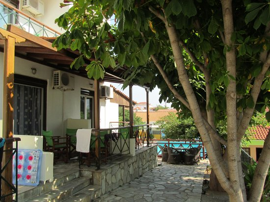 Ionia Hotel Skopelos: Our terrace