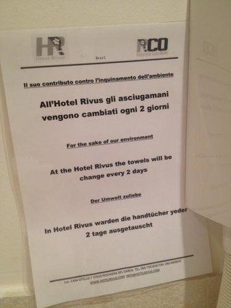 Hotel Rivus: Nulla da aggiungere