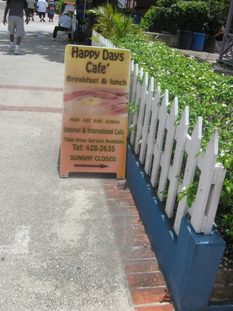 Happy Days Cafe: Directions To Happy Days