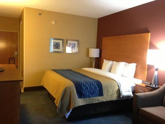 Comfort Inn Plymouth: great room!