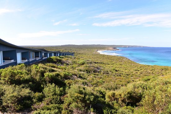 Southern Ocean Lodge: View of the rooms
