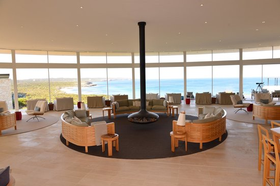 Southern Ocean Lodge: Main lounge