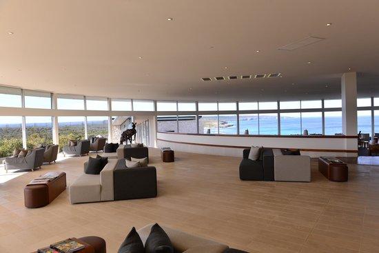 Southern Ocean Lodge : Main lounge