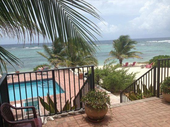 Turtle Nest Inn: from our balcony