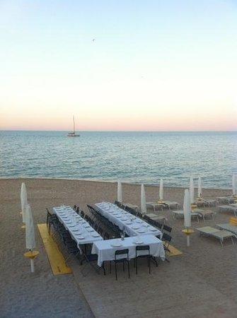 Bahari Cafè : Cena in spiaggia