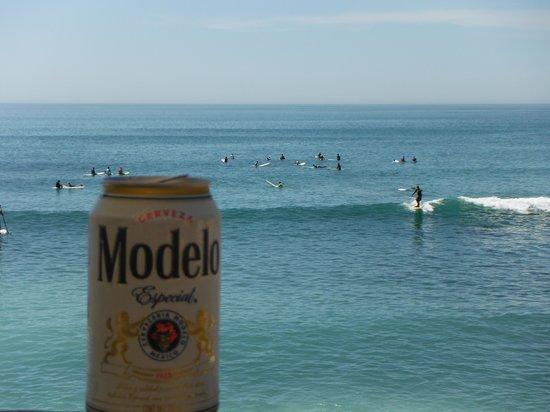 Cabo Surf Hotel : View from my beer.