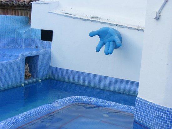 Hotel Enfrente Arte : detalle de la piscina