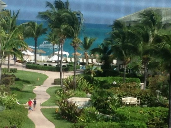 The Sands at Grace Bay: view from our suite (through the screened in balcony)