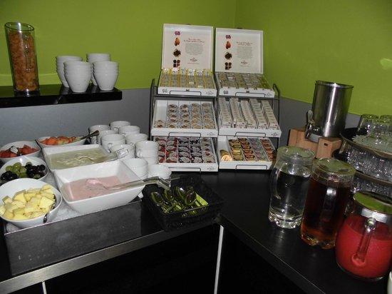 Charme Hotel: Hier ziet u een kleinvoorbeeld  van het ontbijt
