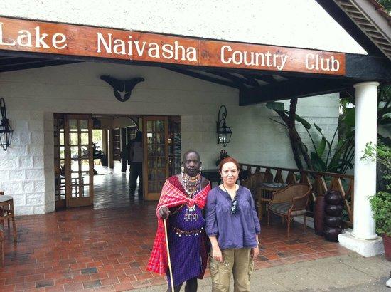 Lake Naivasha Country Club-Sun Africa Hotels: otel karşılama