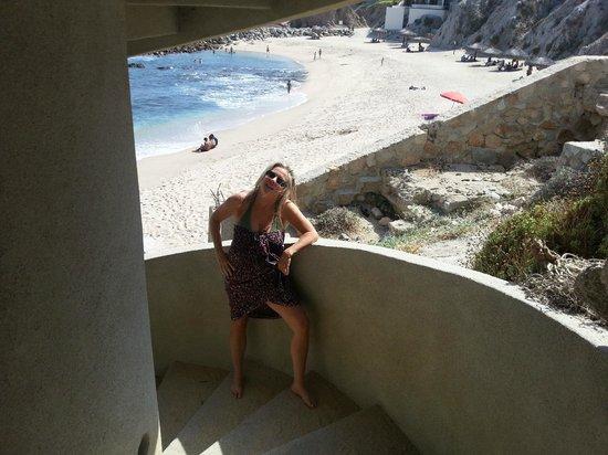Welk Resorts Sirena Del Mar: beach stairs