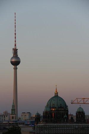 Maritim proArte Hotel Berlin: Vista sobre Berlin