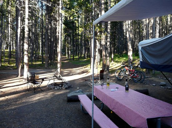 Canyon Village Campground : Site 19