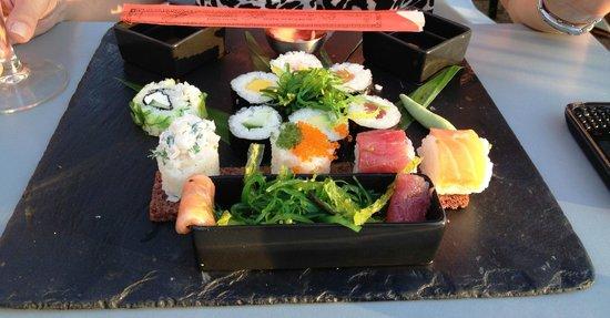 Le Bard'o : Assiette japonaise