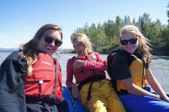 "Denali Southside River Guides: Raft on ""River of Sticks"""