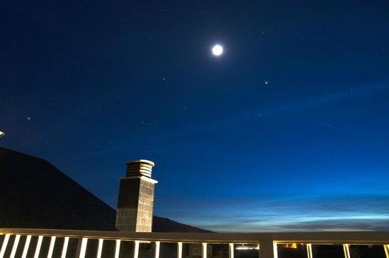 Hotel Mi Norte: noche en terraza