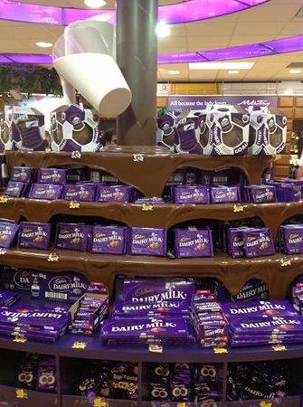 Cadbury world freebies