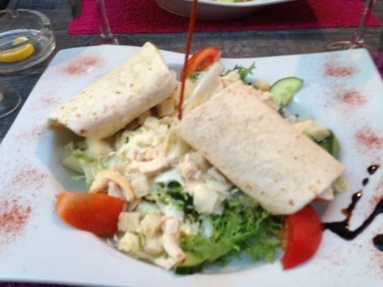 l'authentik : salade césar très copieuse