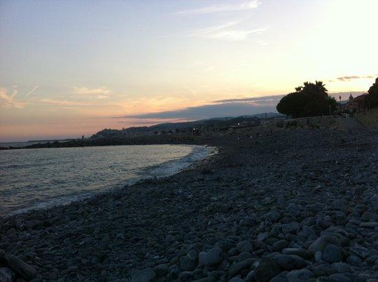 Oneglia Beach