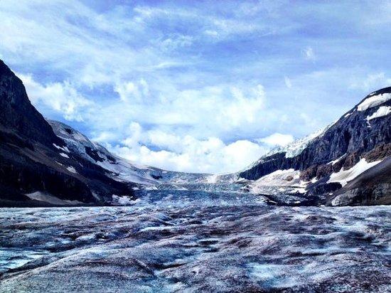 The Glacier View Inn: View from Glacier