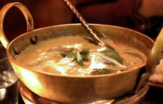 Patara Fine Thai Restaurant - Oxford Circus: Green Curry