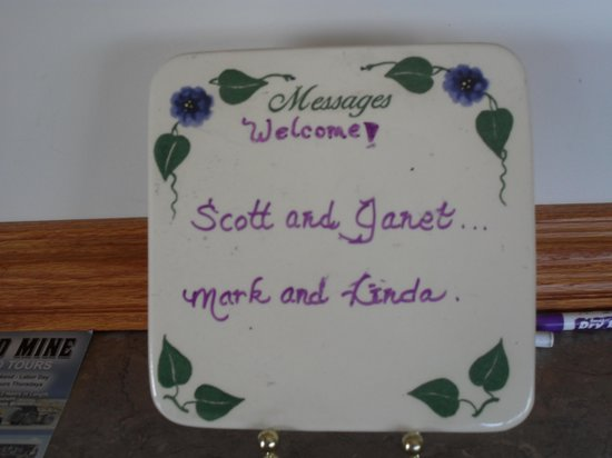Whispering Pines Bed and Breakfast and Vacation Home Rental: A personal welcome to guests