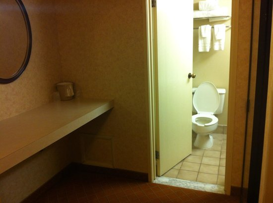 Camarillo Executive Inn & Suites: Bathroom, room 316