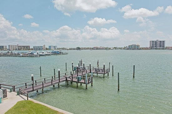 Coral Resort Condominiums: Ahh, the North/East facing view, private dock, Unit C-4