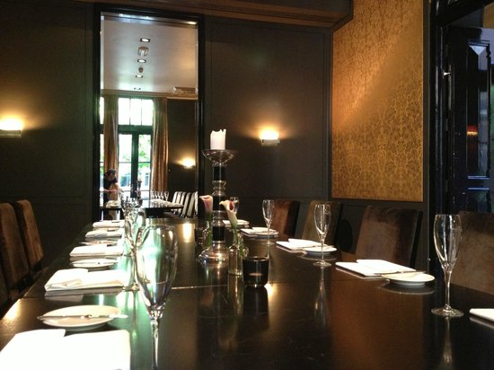The College Hotel : Dining room for special occasions