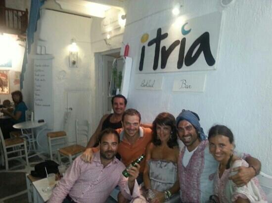 Itria: the best aperitif in Paros