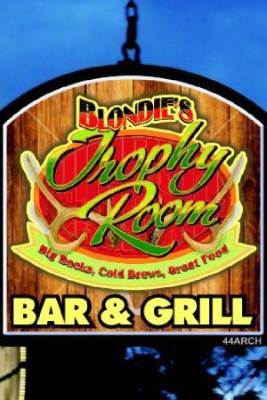 Blondies Trophy Room