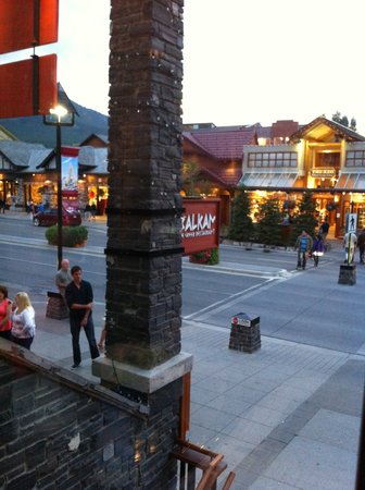 Balkan Restaurant: View From Our Table...
