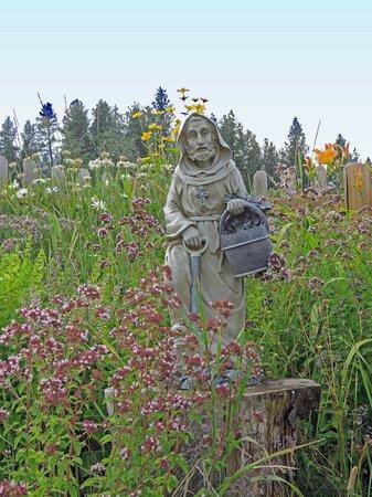 Inn at St. Gertrude: Beautiful gardens