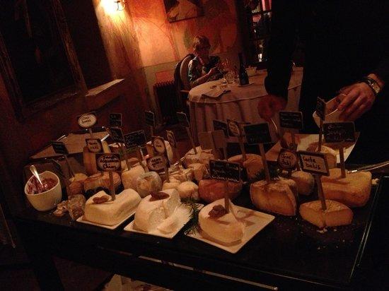 La Signoria: LE plateau de fromage !!!!!