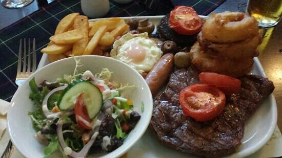 Douglas Arms: mixed grill in restaurant priced at 15.99 it was amazing!!