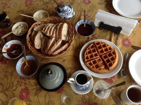 Aux Bons Jardins : le petit déjeuner