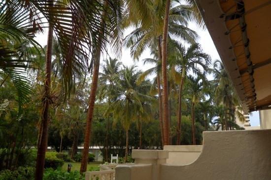 El San Juan Resort & Casino, A Hilton Hotel: devant notre chambre