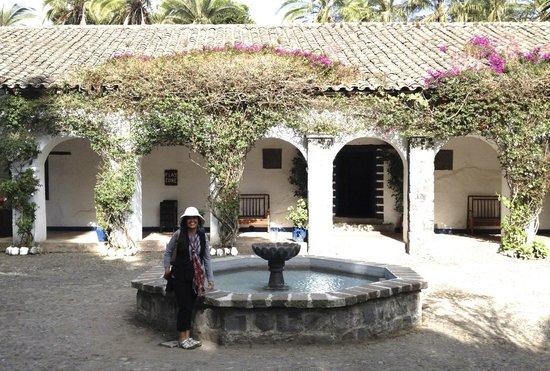 Hacienda Pinsaqui: hotel grounds
