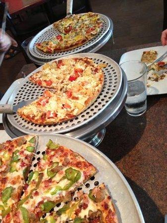 Village Pizzeria: variety.