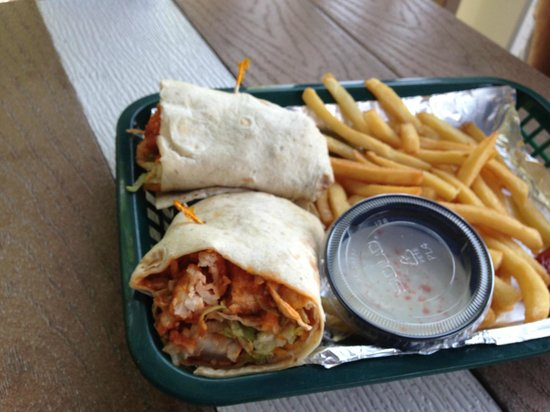 The Cottage Bar and Gulfshore Grill: Wrap