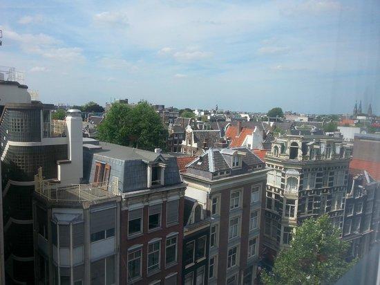 Die Port van Cleve: Uitzicht over Amsterdam