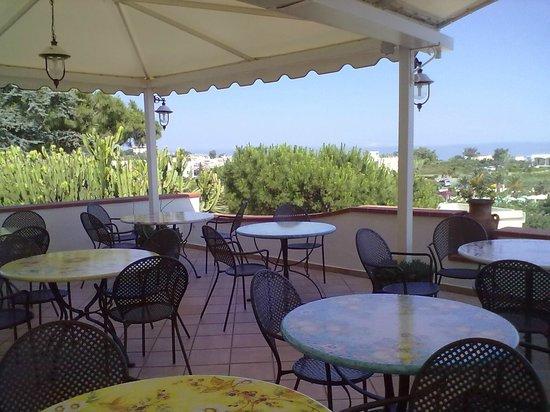 Poggio Aragosta Hotel & Spa: terrazzo panoramico