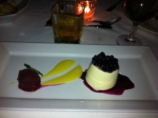 Back Bay Grill: Ginger Mousse & Lemon Cream