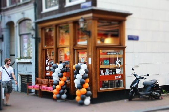 Photo of Cafe Kaldi Amsterdam at Herengracht 300, Amsterdam 1016 CD, Netherlands