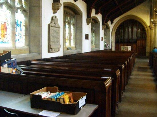 Haworth Parish Church: Inside ..
