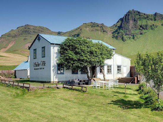Sudur Vik: Suður-Vík restaurant on a beautiful day